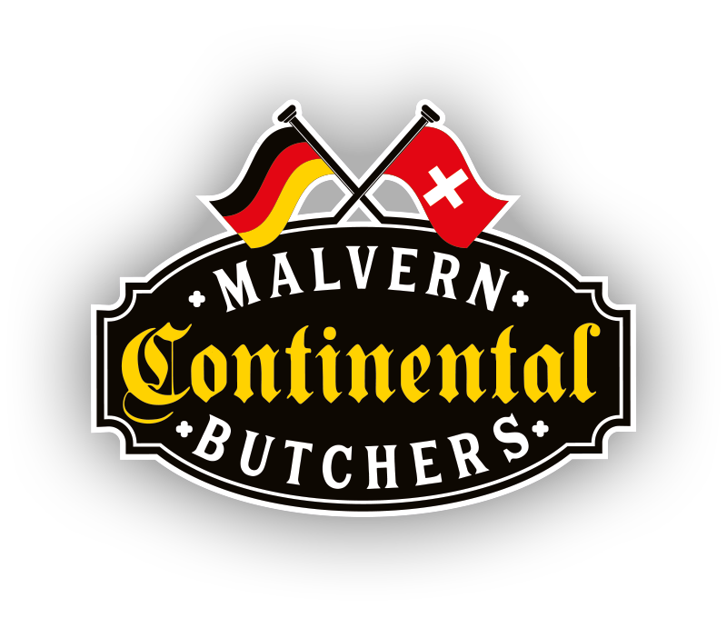 Malvern Continental Butchers Logo
